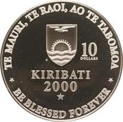 10 dollars (Nouveau millénaire) – avers