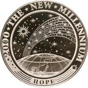 10 dollars (Nouveau millénaire) – revers