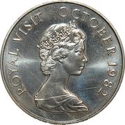 5 Dollars (Royal Visit) – revers