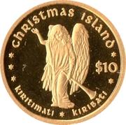 10 Dollars (Christmas Island) – revers
