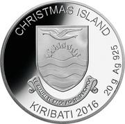 1 dollar (Christmas Island; Rudolph) – avers
