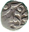 2 Annas (Kishangarh (Anonymous Hammered Coinage - Second Series)) – revers