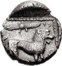 1/3 Siglos - Baalmelek I (Kition) – revers
