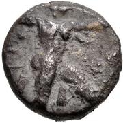 Stater - Baalmelek II (Kition) – avers