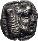 1/12 Siglos - Baalmelek II (Kition) – avers