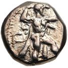 ⅓ Stater - Baalmelek II (Kition) – avers