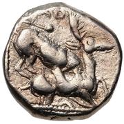 ⅓ Stater - Baalmelek II (Kition) – revers