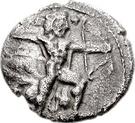 1/3 Siglos - Baalmelek I (Kition) – avers