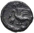 Bronze Æ11 (Klazomenai) – revers