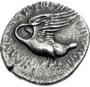 Tetradrachm (Klazomenai) – revers