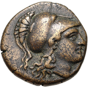Bronze Æ17 (Klazomenai) – avers