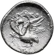 Diobol (Klazomenai) – revers