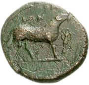 Bronze Æ18 (Klazomenai) – revers
