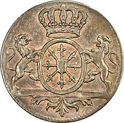 1 duit  - Friedrich II – avers