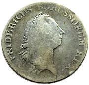 60 stüber Friedrich II – avers
