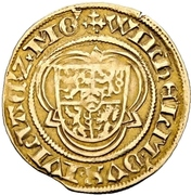 1 Goldgulden - Johann II. (Postulatsgoldgulden) – avers