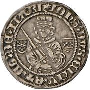 1 Blanken - Johann I. – avers