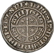 1 Blanken - Johann I. – revers