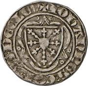 1 groschen - Johann I. (Wappentournose) – avers