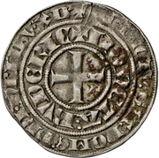 1 groschen - Johann I. (Wappentournose) – revers