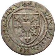 ⅓ groschen - Johann I. (1/3 Wappenturnose) – avers