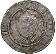 ½ groschen - Johann I. (1/2 Wappenturnose) – avers