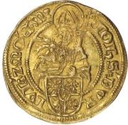 1 Goldgulden - Johann III. – avers