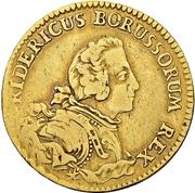 1 Friedrichs d'or - Friedrich II. – avers
