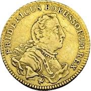½ Friedrichs d'or - Friedrich II. – avers