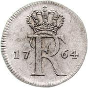 1 Stüber - Friedrich II. – avers