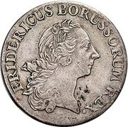 ⅙ Thaler - Friedrich II. – avers
