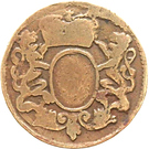 1 Duit - Friedrich III. – avers