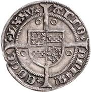 1 Weißpfennig - Johann I. – revers