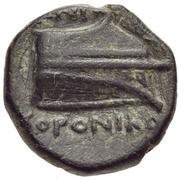 Bronze Æ10 - ...oroniko (Knidos) – revers