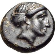 Bronze Æ11 (Knidos) – avers