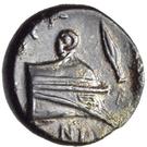 Bronze Æ11 (Knidos) – revers