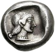 Drachm (Knidos) – revers