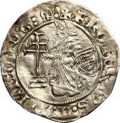 Gros - Robert de Juilly (1374-1376) – avers