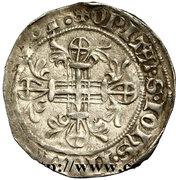 Gros - Robert de Juilly (1374-1376) – revers