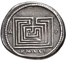 Drachm (Knossos) – revers