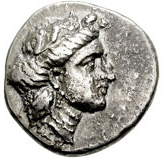 Stater (Knossos) – avers