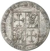 9 grote Wilhelm Gustav Friedrich – avers