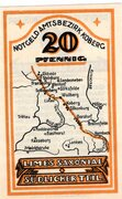 20 Pfennig (Amtsbezirk Koberg) – revers
