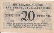 20 Pfennig (Koberg) – revers