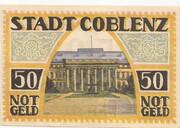50 Pfennig (Coblenz) -  revers