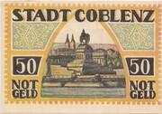 50 Pfennig (Coblenz) – revers