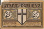 25 Pfennig (Coblenz) -  avers