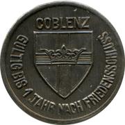 25 pfennig - Coblenz -  avers