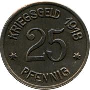25 pfennig - Coblenz -  revers