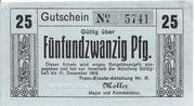 25 Pfennig – avers
